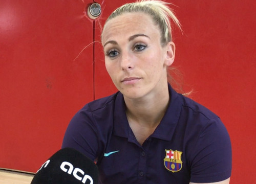 Toni Duggan is the first English player to sign for Barcelona since Gary Lineker
