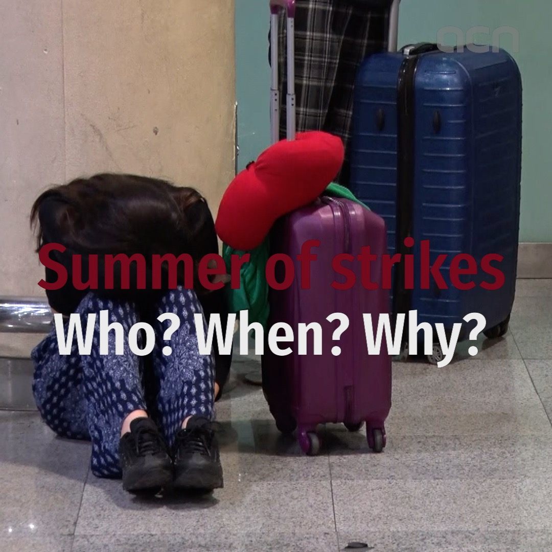 A summer of strikes: Who is on strike, when, and why