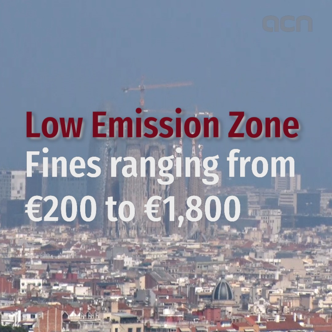 Low Emission Zone: fines ranging from €200 to €1,800