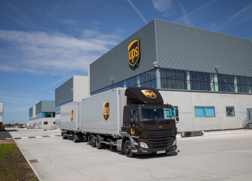 UPS new hub in London (by UPS)