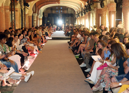The catwalk (courtesy of 080 Barcelona Fashion)