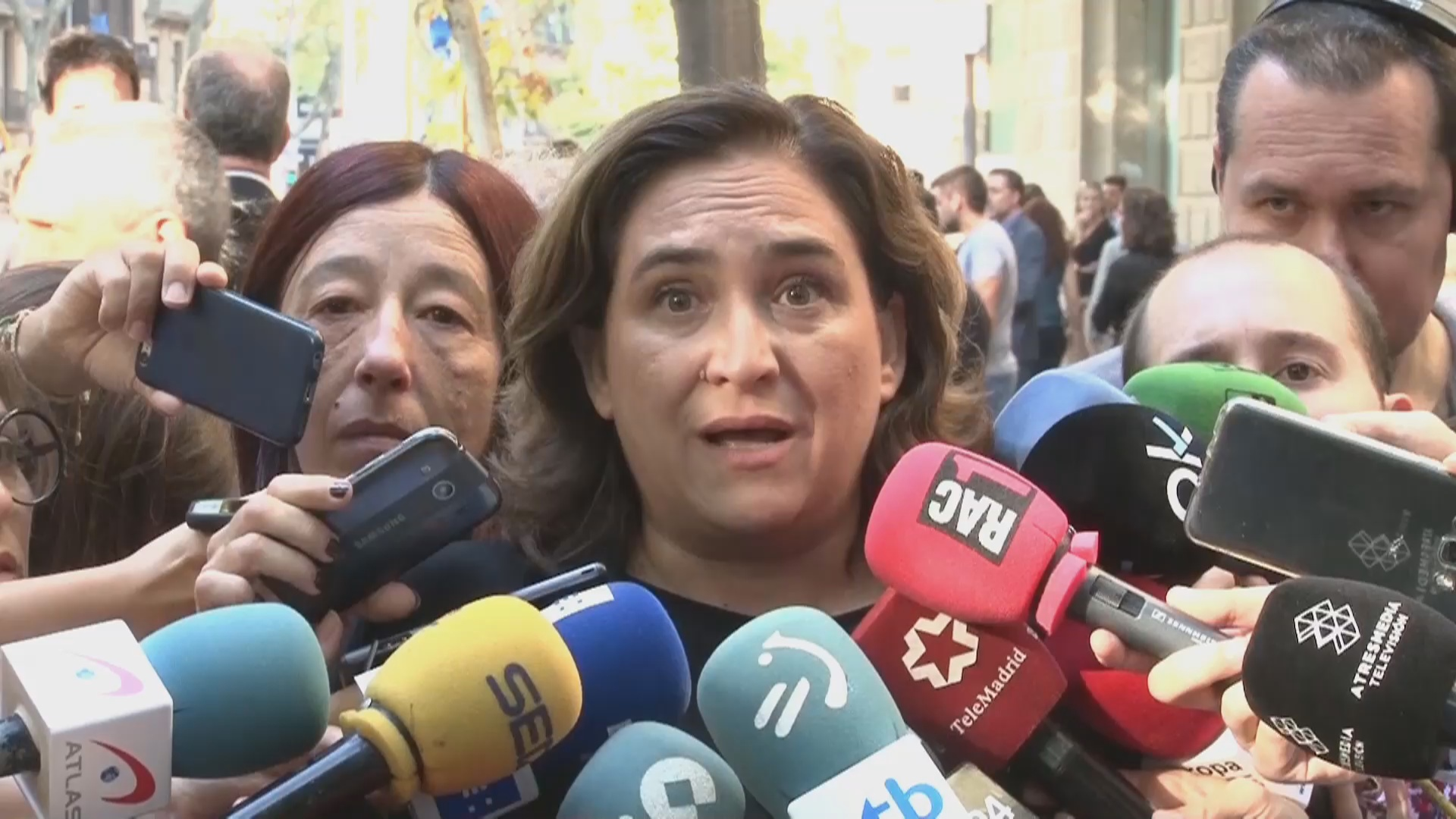 Barcelona mayor Ada Colau on the National Day
