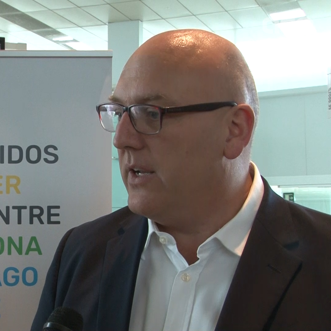 LEVEL airline CEO Vincent Hodder speaks to Catalan News