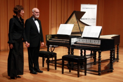 The opening concert of the 2014 Bachcelona Festival (by L. Roma)