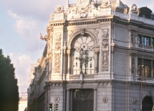 The Bank of Spain building in Madrid (by EFE)