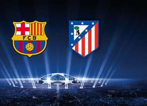 Barça and Atlético de Madrid to play against each other at the Champions League quarters (by FC Barcelona)