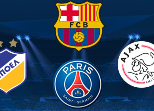 Barça to face PSG, Ajax and APOEL in the Champions League (by FC Barcelona)