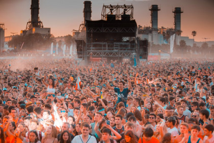 Image of the 2018 Barcelona Beach Festival (by BBF)