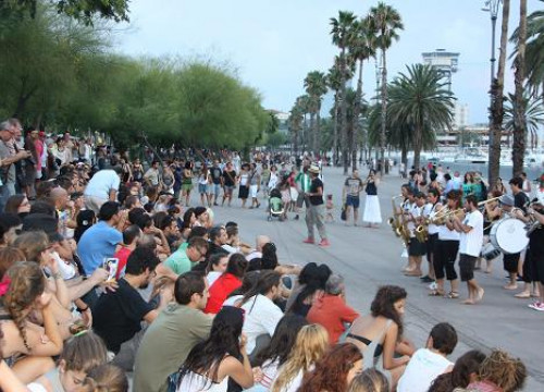 One of the concerts held at Barcelona's port (by ACN)