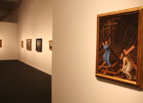Some of the Prado paintings showcased in Barcelona Caixaforum's exhibition (by P. Cortina)