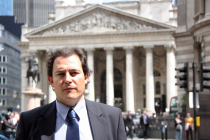 Robert Casajuana, an international bond trader at one of the most established companies in London, King & Shaxson (by ACN)