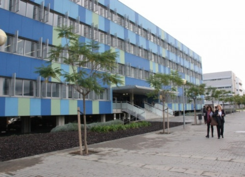 The building in the UPC's Castelldefels that will host the start-ups (by ACN)