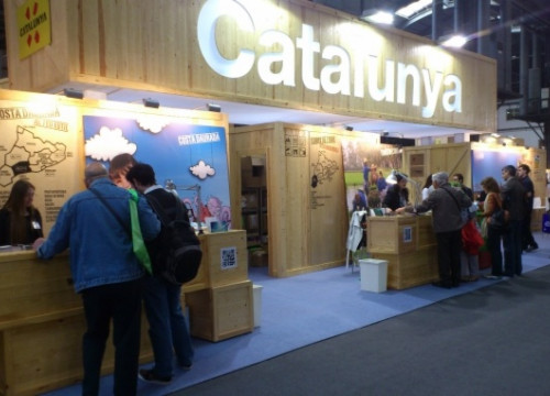 Catalonia's stand at the 2013 SITC (by ACN)