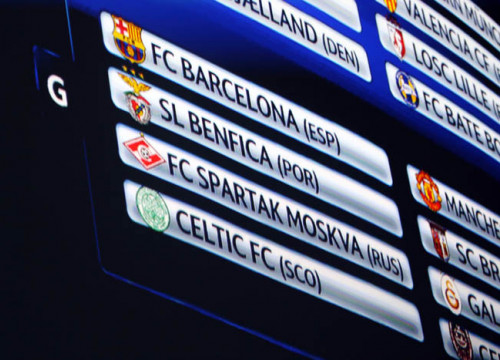 Barça to play against Benfica, Spartak Moscow and Celtic at the UEFA Champions League Group Stage (by FC Barcelona)