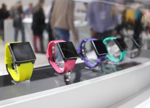 Colorful wearable devices from SONY (by R. Hashimoto)