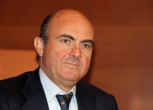 The Spanish Minister for the Economy, Luís de Guindos (by J. R. Torné)