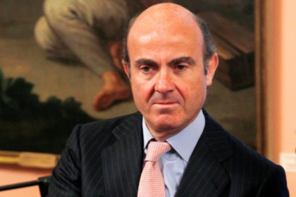 The new Spanish Minister for Economy and Competitiveness, Luís de Guindos (by ACN)