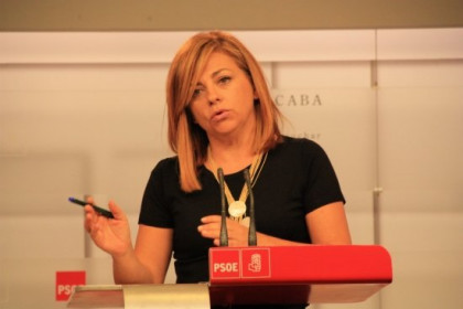 Elena Valenciano, Alfredo Perez Rubalcaba's right hand, participated in the negotiations (by ACN)