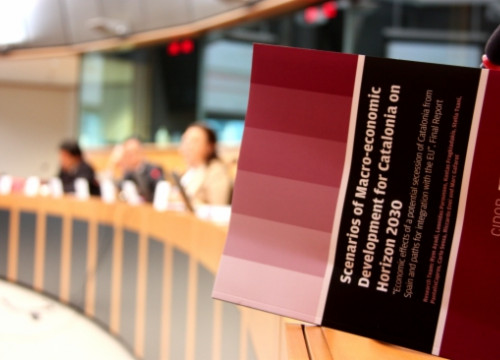 The report has been presented at the European Parliament (by L. Pous)