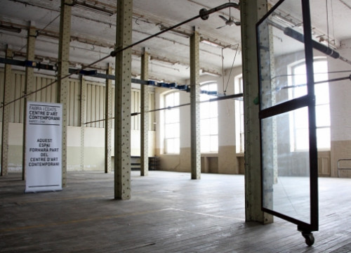 One of the future spaces of the Centre for Contemporary Art (by P. Cortina)