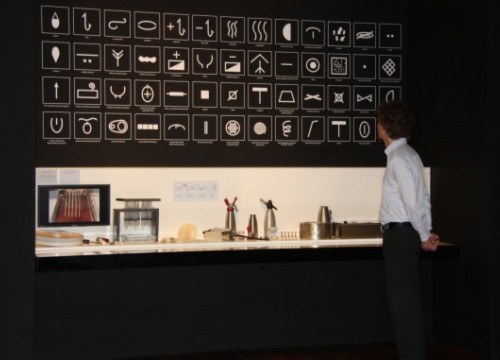 The exhibition on Ferran Adrià organised in 2013 at London's Sommerset House (by L. Pous)