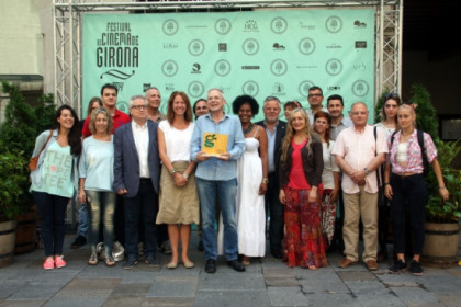 A family picture of those behind Girona's Film Festival (by T. Tàpia)