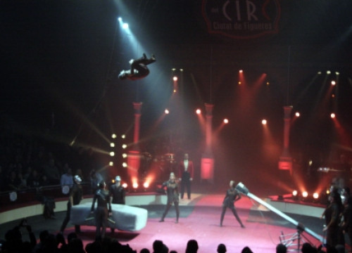 A picture of the 2015 Figueres International Circus Festival (by A. Recolons)