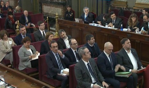 Jailed Catalan leaders in Spain's Supreme Court