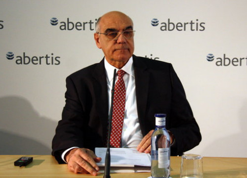 The CEO of Abertis, Salvador Alemany (by ACN)
