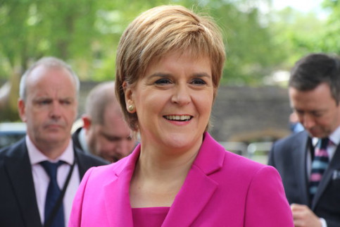 The Scottish First Minister, Nicola Sturgeon (by ACN)