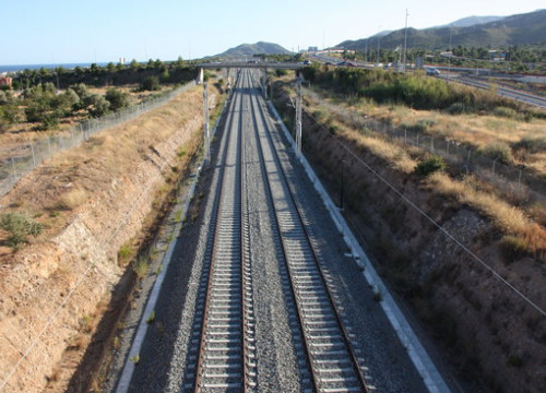 Part of the Mediterranean Corridor between Vandellòs and Hospitalet de L'Infant (by ACN)