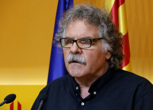 ERC's spokesman and MP in the Spanish Parliament, Joan Tardà (by ACN)