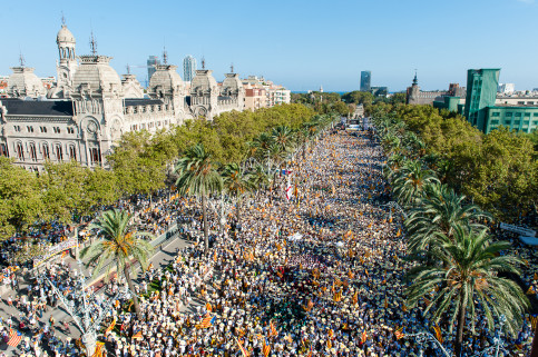 Pro-independence demonstration on September 11 2016 (by ACN)