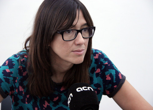 Núria Parlon, Santa Coloma de Gramenet's Mayor and PSC's candidate to lead the party in Catalonia (by ACN)