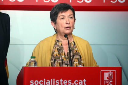 Spanish government delegate in Catalonia Teresa Cunillera (by ACN)