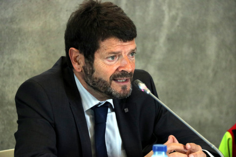 Albert Batlle, director general of the Catalan police (by ACN)