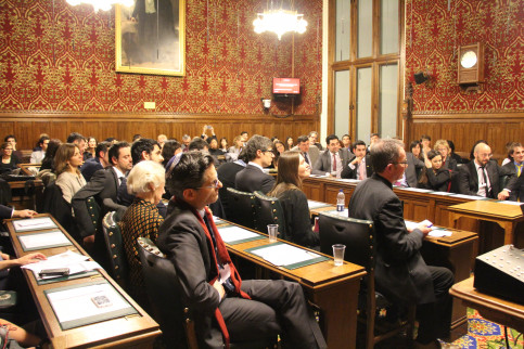 Public attending the official inauguration of the APPG on Catalonia at Westminster (by ACN)