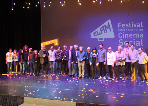 The winners for the 2017 CLAM festival on May 7 2017 (by CLAM)