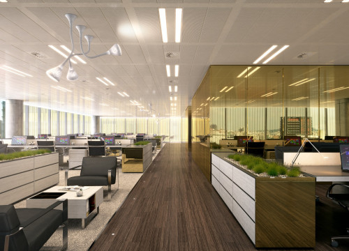 Virtual image of Amazon's office in Barcelona - archive (by Stoneweg)
