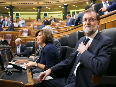 Archive - Rajoy in Spanish Congress (by ACN)