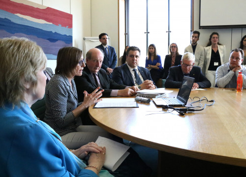Carme Forcadell, in the All-Party Parliamentary Group on Catalonia constituted today in the UK Parliament