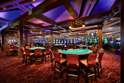 Image of the interior of the Seminole Hard Rock Hotel & Casino Hollywood (courtesy of Hard Rock, July 12 2017)