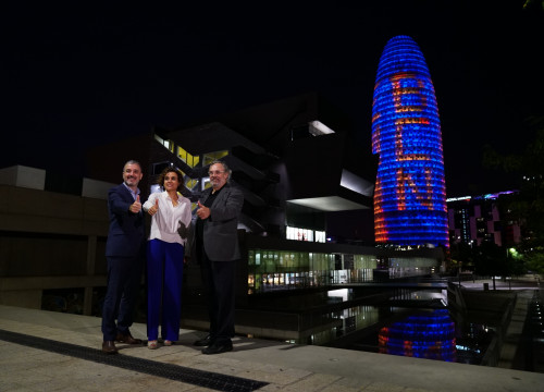 During the campaign of Barcelona to be the new home of the EMA (by ACN)