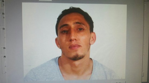 Driss Oukabir, accused of being a member of the terrorist cell that carried out the Barcelona attacks (by Catalan police)