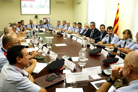 The antiterrorist coordination meeting held in Barcelona on Monday