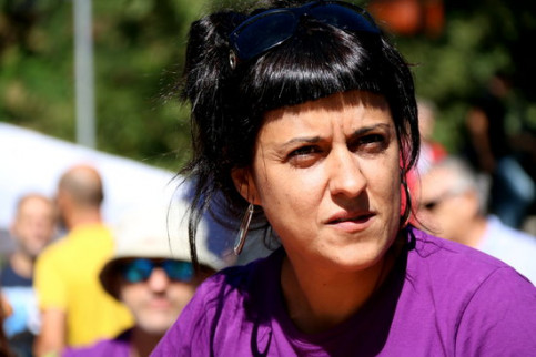 Catalan leader and CUP former MP Anna Gabriel (by ACN)