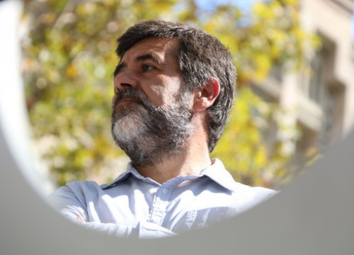 Jailed Catalan leader Jordi Sànchez (by Elisenda Rosanas)