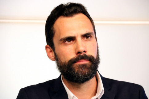 Roger Torrent is ERC's candidate to become President of the Catalan Parliament (by ACN)