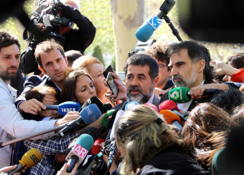 The pro-independence activist Jordi Sànchez (by ACN)