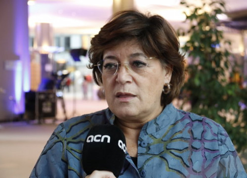 Portuguese MEP Ana Gomes during an interview with ACN (by ACN)